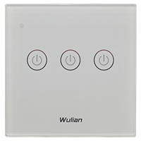 Wireless_Wall_Touch_Switch(Triple_keys) Home Automation Dimmer and switches